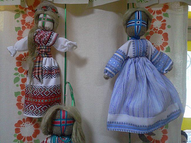 Кукла-мотанка - народная тряпичная кукла-оберег - работы посетителей