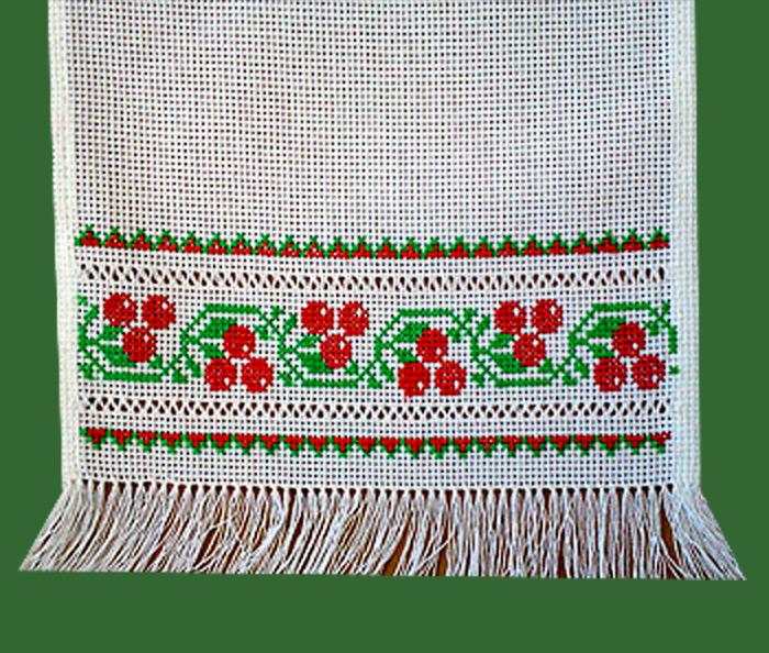 Схема свадебного рушника под